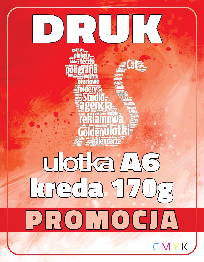 ULOTKA A6 KREDA  170g